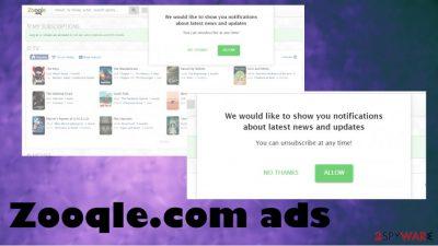 Zooqle.com ads