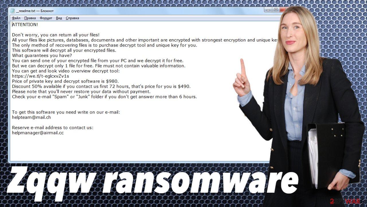 Zqqw ransomware