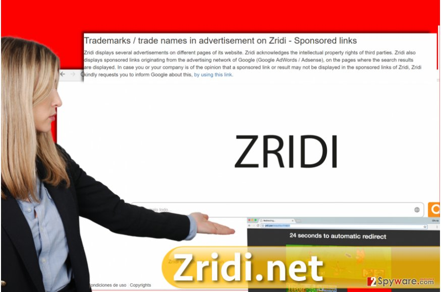Zridi.net virus
