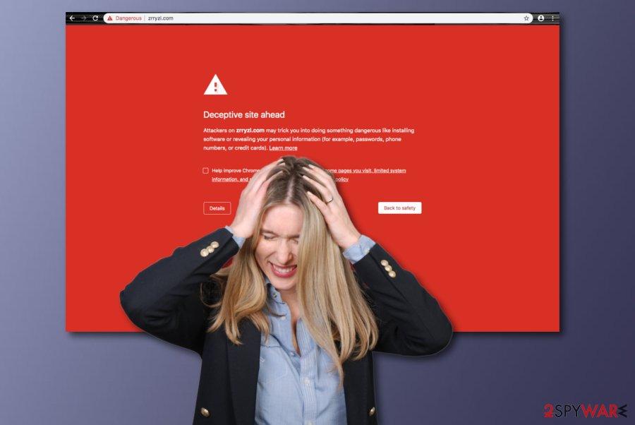 Zrryzi.com virus
