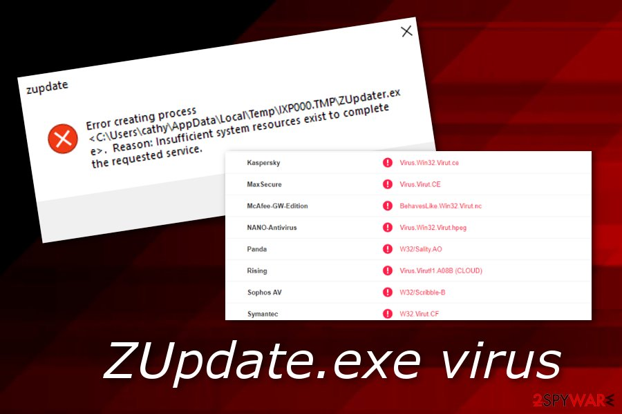 Remove ZUpdater exe virus (Free Guide) - Virus Removal Instructions