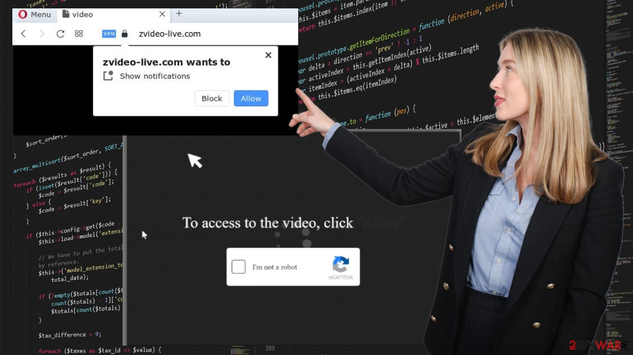 Zvideo-live.com ads