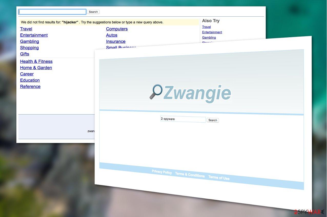 Zwangie.com virus