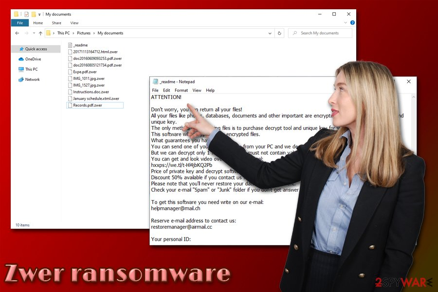 Zwer ransomware virus
