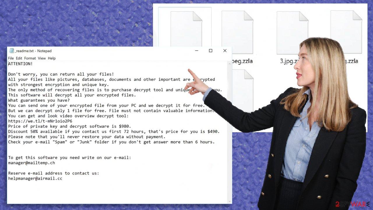 Zzla file virus